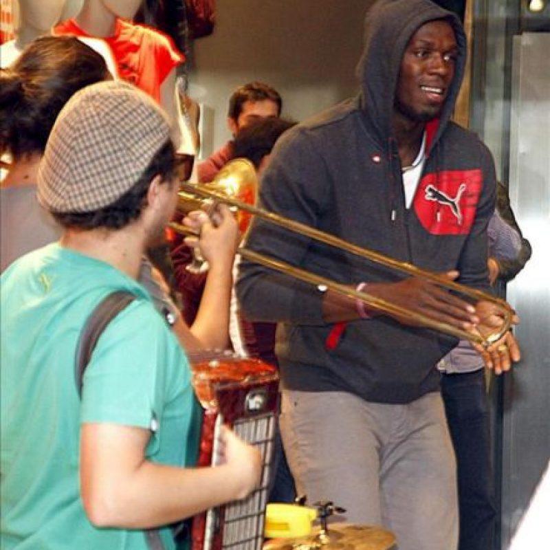 El atleta jamaicano Usain Bolt. EFE
