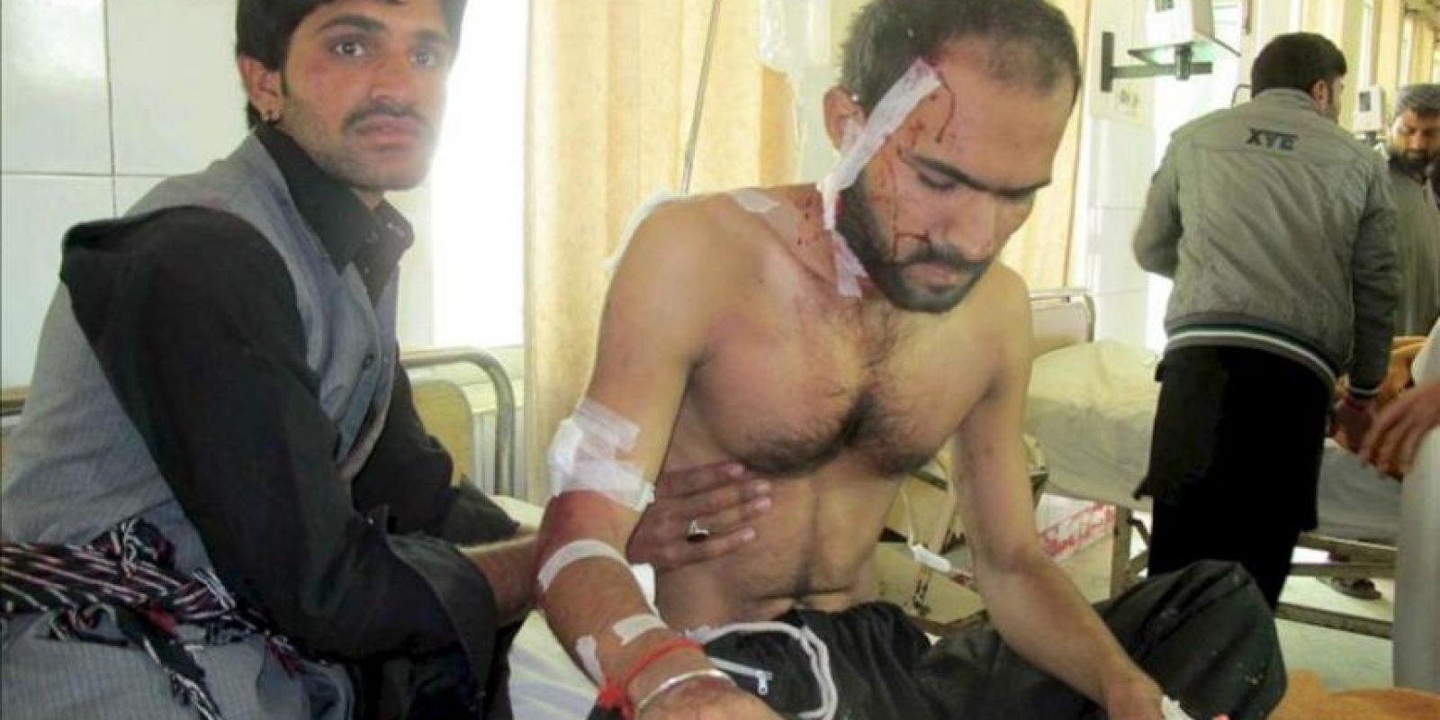 Un hombre herido se restablece tras una explosión registrada en el transcurso de una procesión chií en el oeste de Pakistán, según informó a Efe una fuente policial. EFE