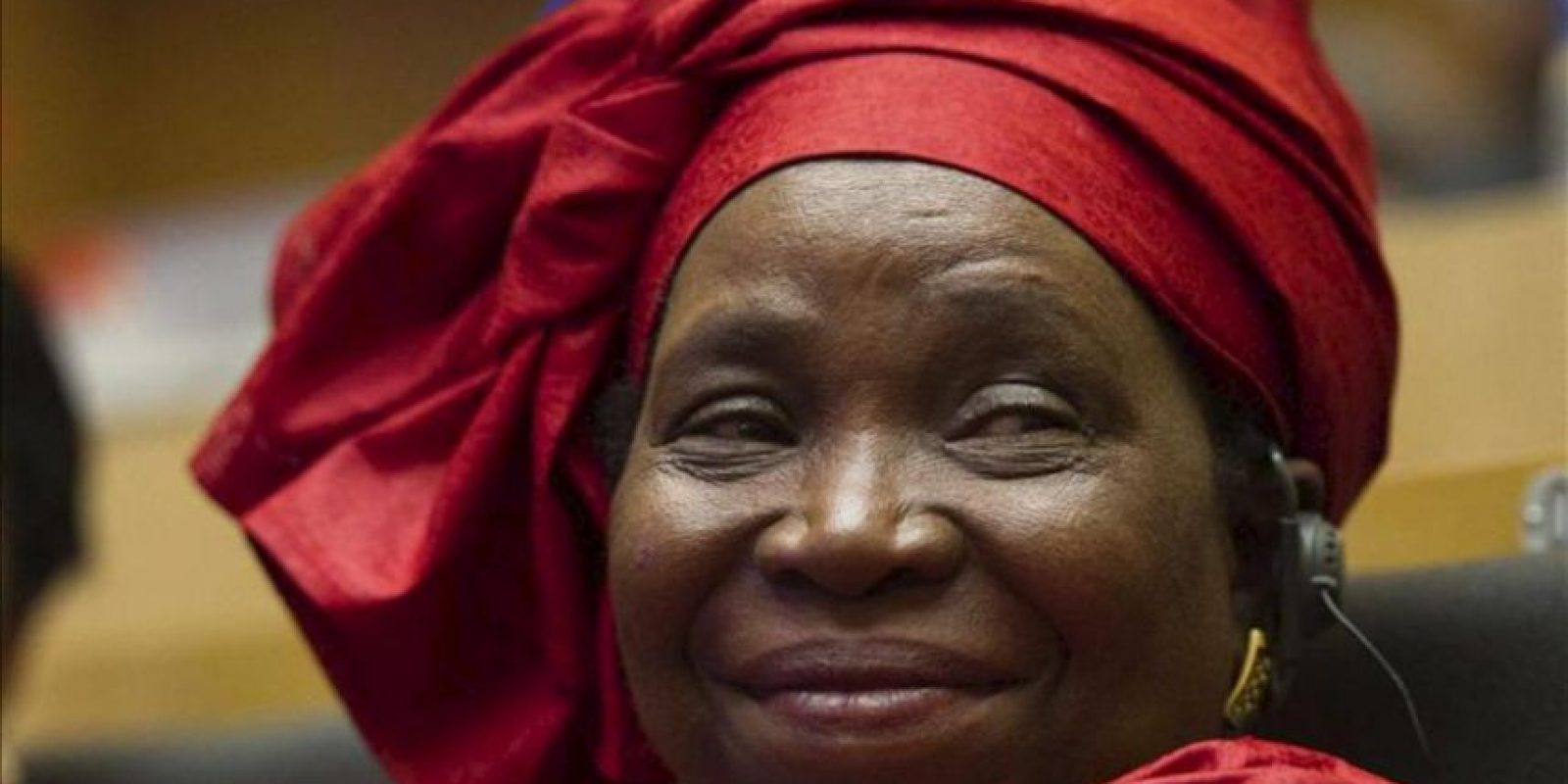 La presidenta de la Comisión de la Unión Africana (UA), Nkosazana Dlamini-Zuma. EFE/Archivo