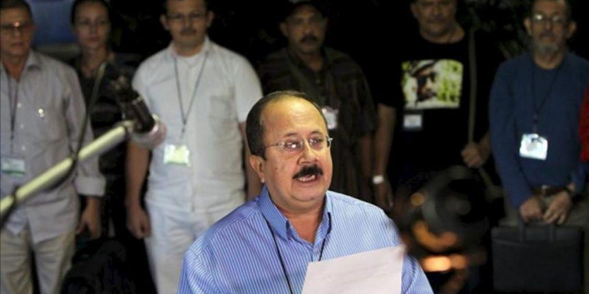 Las FARC niegan tensiones en el diálogo pero acusan al ministro de Defensa de