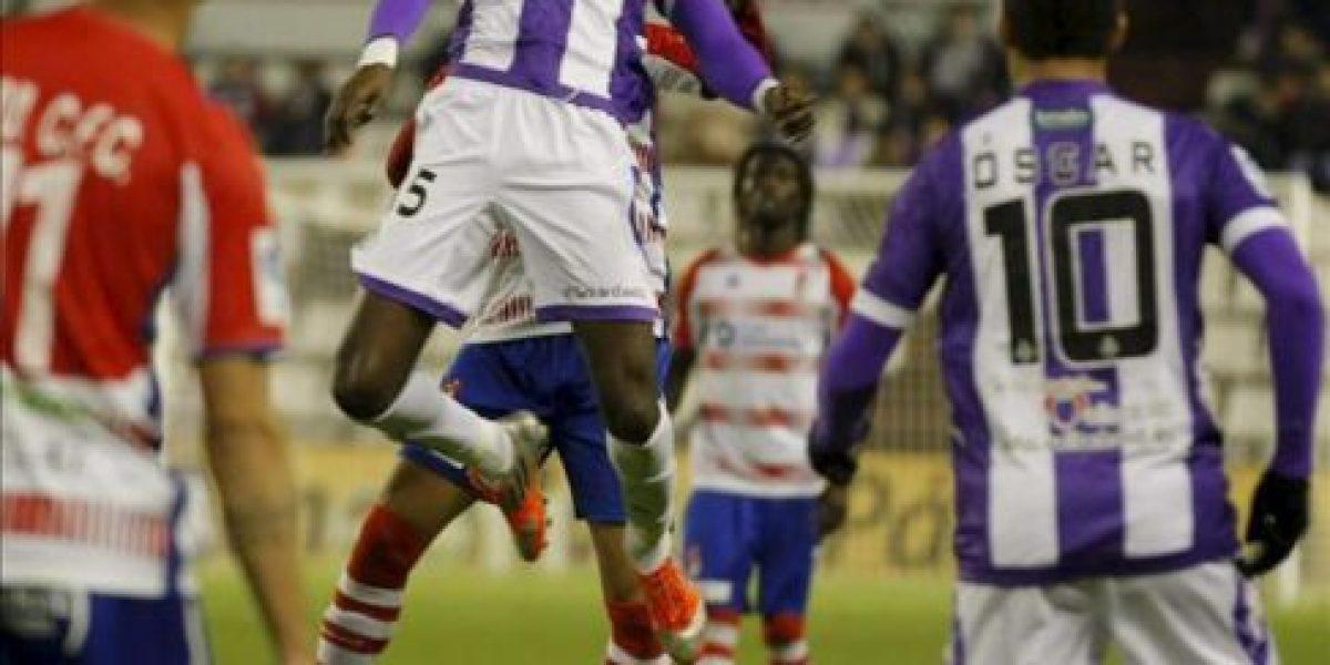 1-0. Un gol de Manucho da el triunfo al Real Valladolid