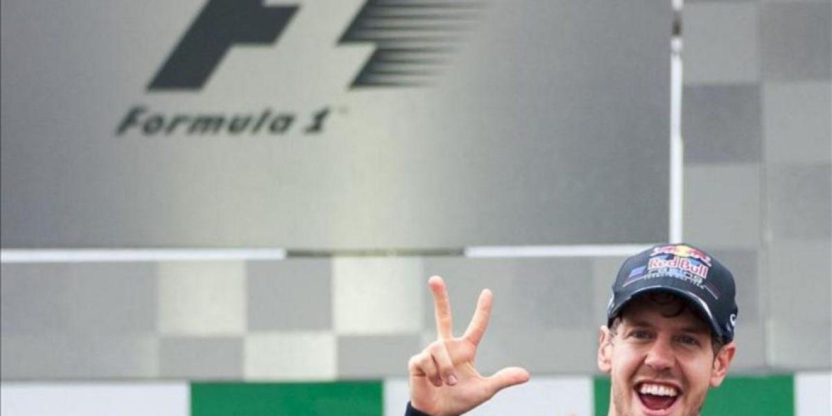 Vettel, el tricampeón más joven al ganarle el Mundial a Alonso por tres puntos