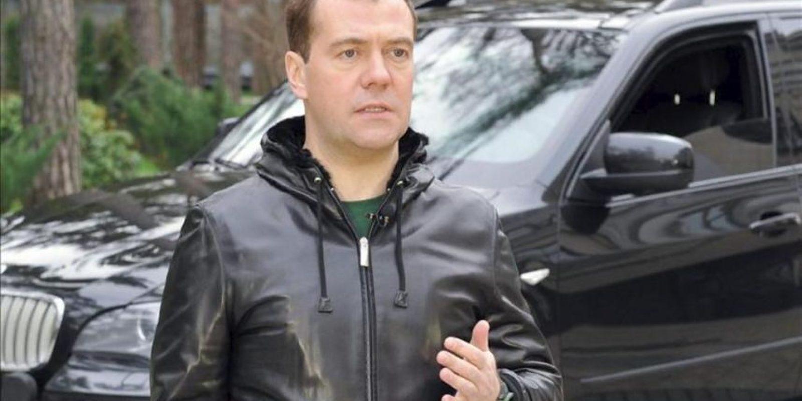 El primer ministro ruso, Dmitri Medvedev. EFE/Archivo