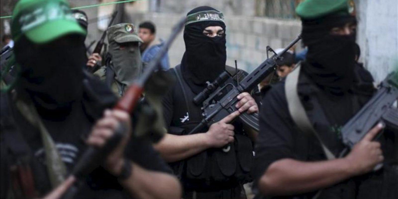 Imagen de miembros de Hamas armados. EFE/Archivo