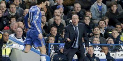 El entrenador español del Chelsea, Rafa Benítez. EFE