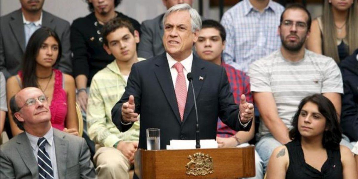 Piñera admite su