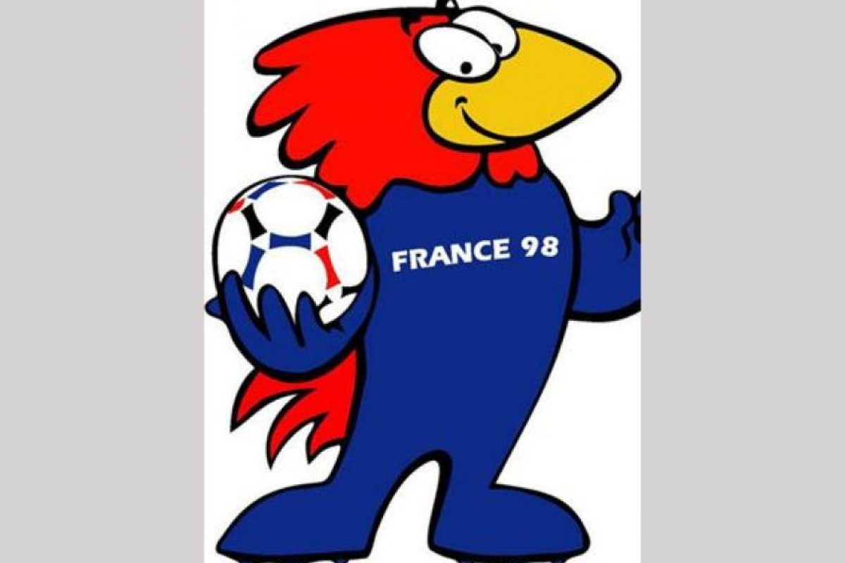 Francia 1998, Footix Foto:Publimetro.mx