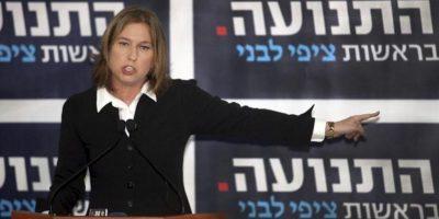 Tzipi Livni, ex ministra israelí de Exteriores, anuncia en rueda de prensa su regreso a la vida política. EFE