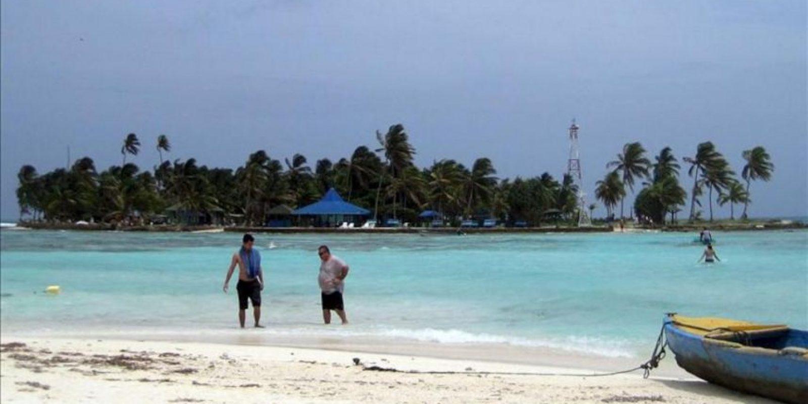 Fotografía sin fechar de una playa en la isla de San Andrés (Colombia). EFE/Archivo