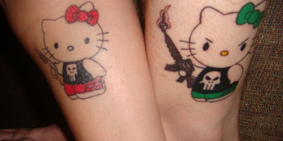 Los peores tatuajes para hacerse en pareja (Parte II)