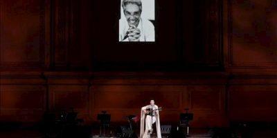 La cantante mexicana Ely Guerra participa en un homenaje a Chavela Vargas, en el Carnegie Hall de Nueva York (NY, EE.UU.). EFE