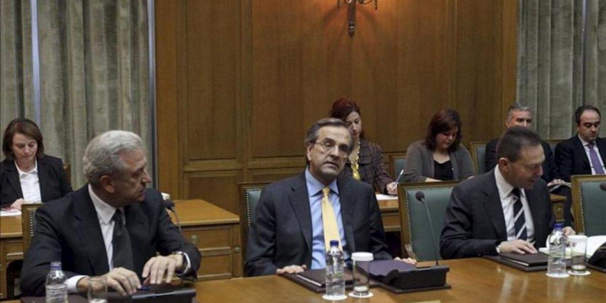 La coalición griega respalda a Samarás y descarta cambios en el Gobierno