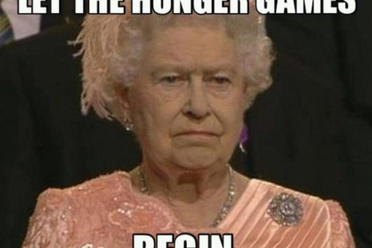 La reina no esta impresionada