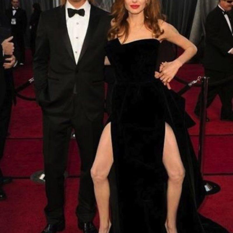 La pierna de Angelina Foto:BuzzFeed.com