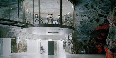 The Wikileaks Lair in Stockholm's White Mountains Foto: fastcodesign.com