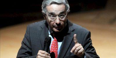 En la imagen, el expresidiente de Colombia Álvaro Uribe Vélez. EFE/Archivo