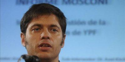 El viceministro de Economía de Argentina, Axel Kicillof. EFE/Archivo