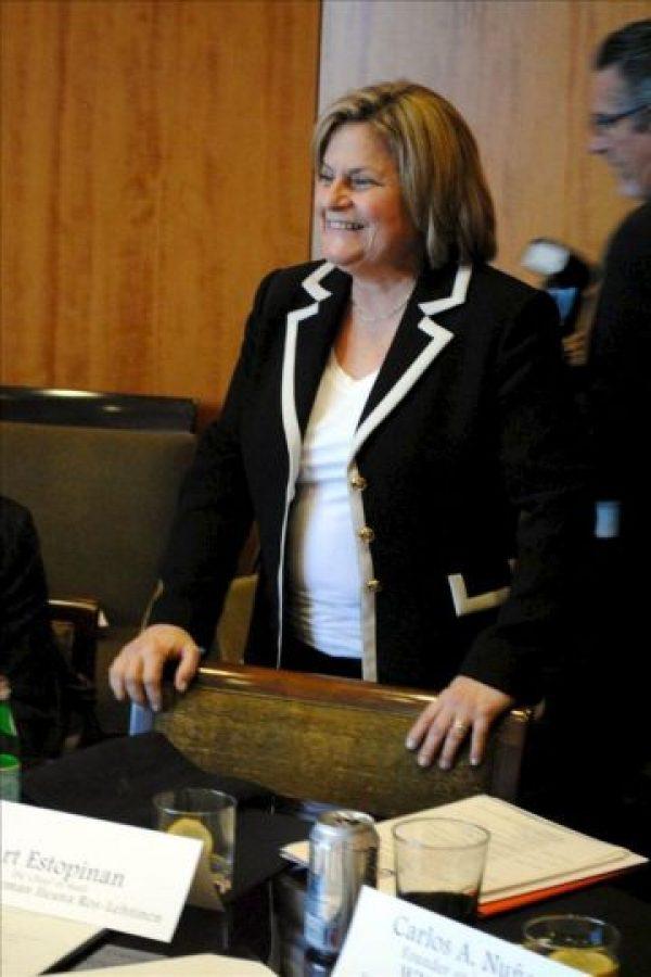 En la imagen, la representante republicana de Florida Ileana Ros Lehtinen. EFE/Archivo