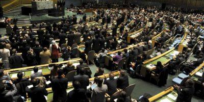 El presidente de la Autoridad Nacional Palestina, Mahmud Abás, habla este 29 de noviembre, ante la Asamblea General de la ONU, en Nueva York (EEUU). EFE