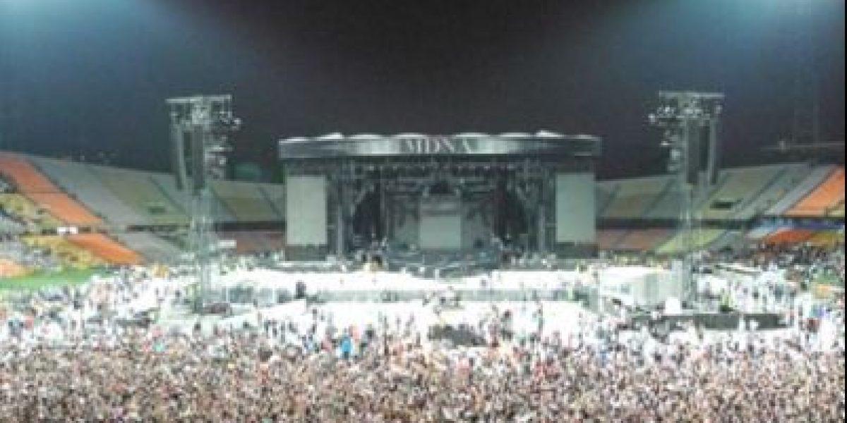 Madonna llenó el Atanasio Girardot