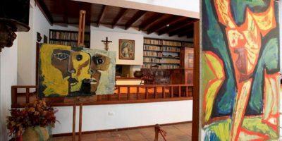 Se cumplió un sueño de Oswaldo Guayasamín (1919-1999), una de las figuras de referencia del arte contemporáneo iberoamericano, con la apertura, como museo de su casa en Quito (Ecuador). EFE