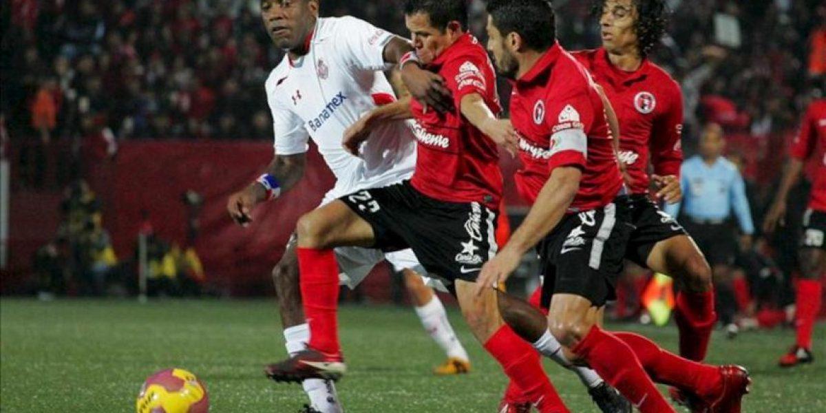 Los Xolos vencen 2-1 al Toluca con goles de sudamericanos