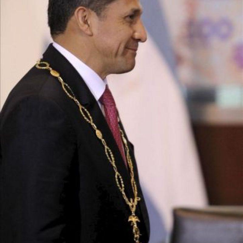 En la imagen, el presidente de Perú, Ollanta Humala. EFE/Archivo