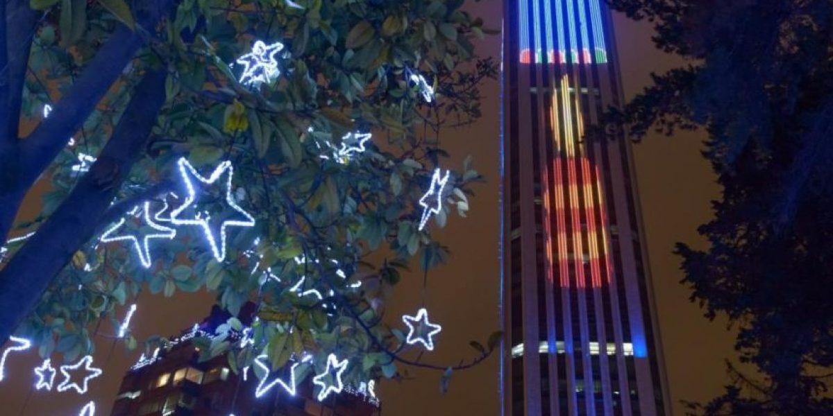 La nueva iluminación de la Torre Colpatria