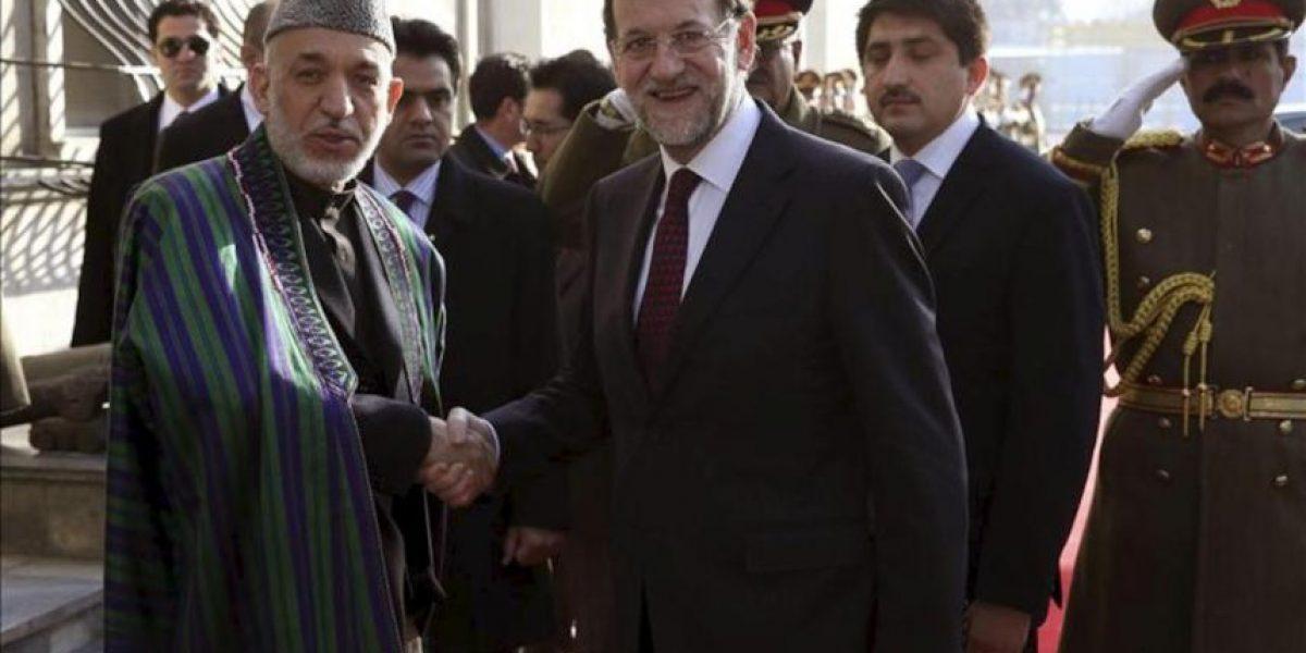 Rajoy pide a las tropas en Afganistán que no bajen la guardia hasta el fin de la misión