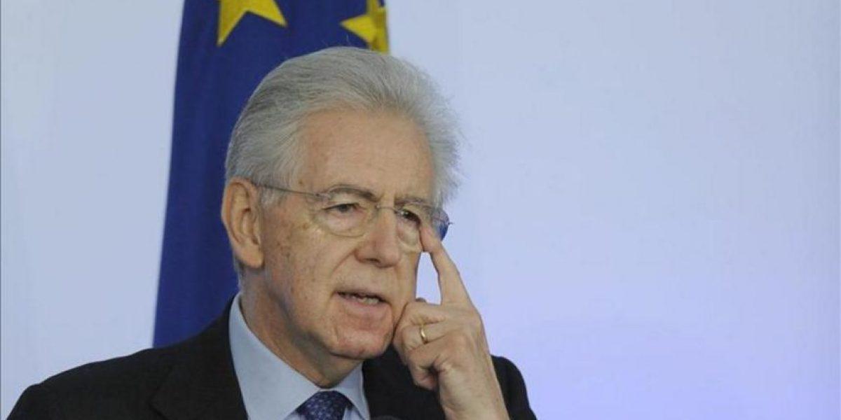 Monti, dispuesto a ser presidente del Gobierno si se acepta su programa