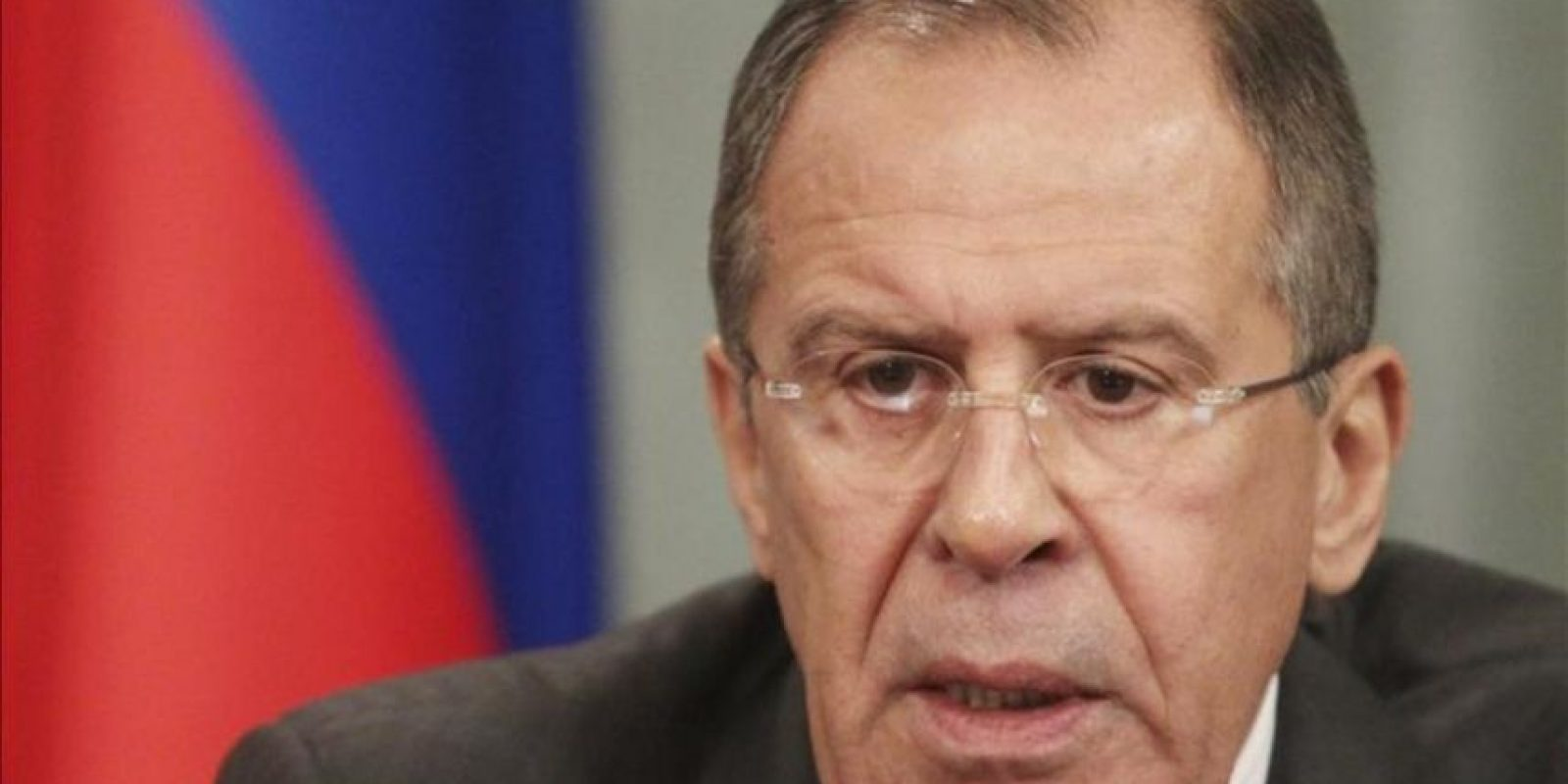 El ministro ruso de Asuntos Exteriores, Sergei Lavrov. EFE/Archivo
