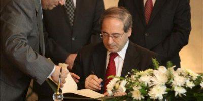 El viceministro de Exteriores sirio, Faisal Maqdad. EFE/Archivo