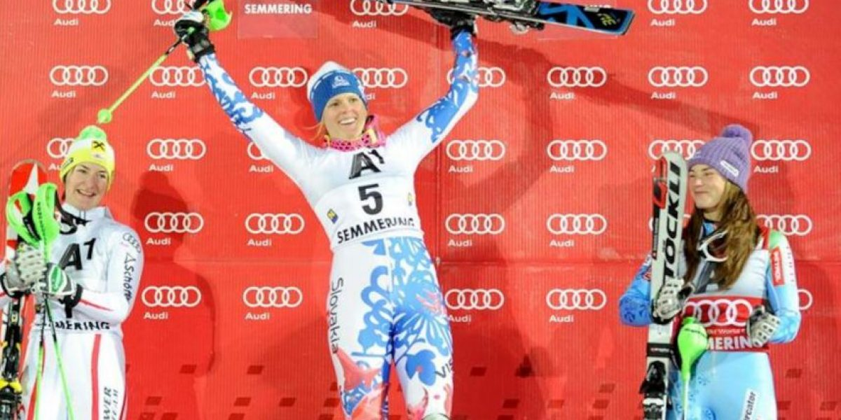 Zuzulova logró su primer triunfo tras 146 pruebas al ganar el eslalon de Semmering