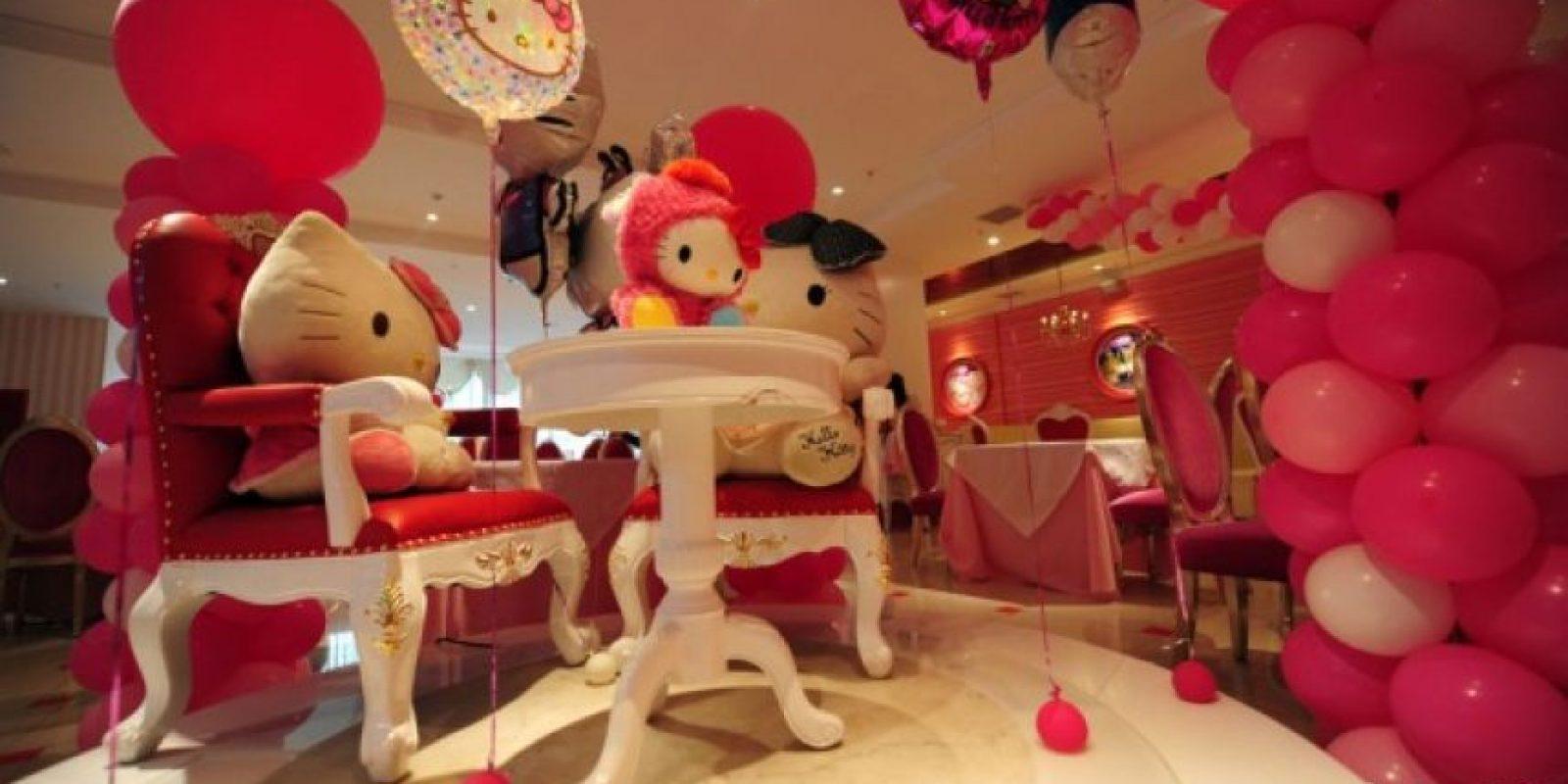 Beijing tiene su propio restaurante de Hello Kitty Foto:Dailypix