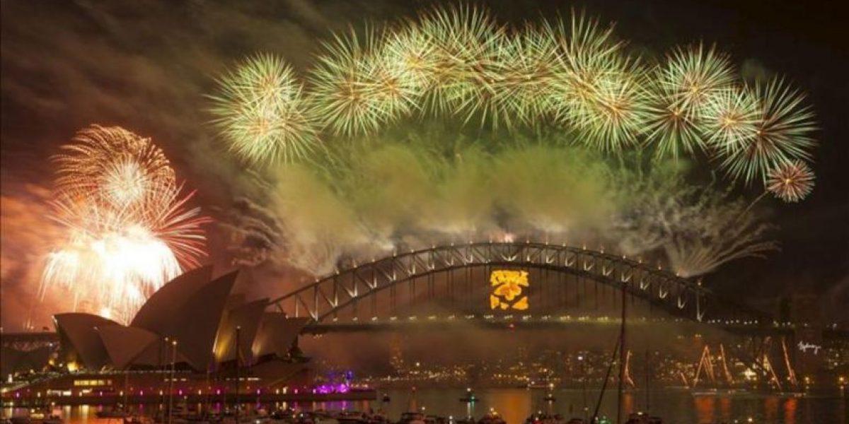 Oceanía y Asia celebran la llegada del año 2013