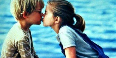 Mi primer beso Foto:Internet
