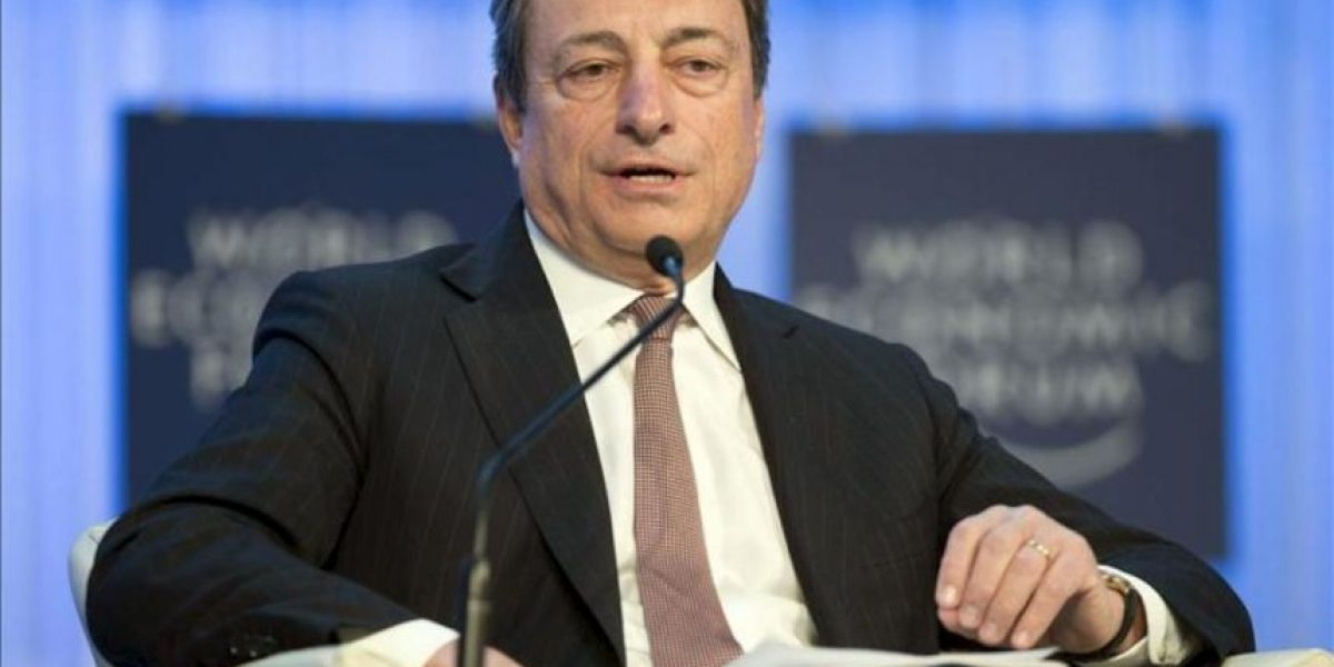Draghi prevé una recuperación de la economía en la segunda mitad de 2013