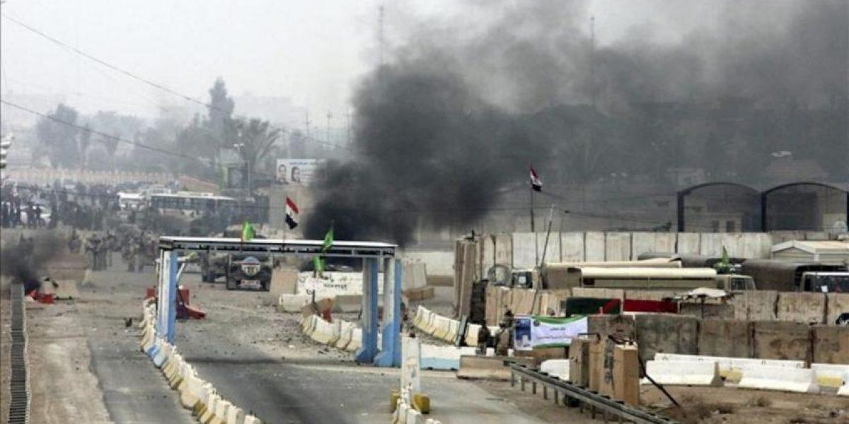 Mueren cinco manifestantes en choques con el Ejército iraquí en Faluya