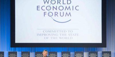 El rey Abdalá II de Jordania, participa en una de las sesiones de la 43ª reunión anual del Foro Económico Mundial en Davos, Suiza, el 25 de enero de 2013. EFE
