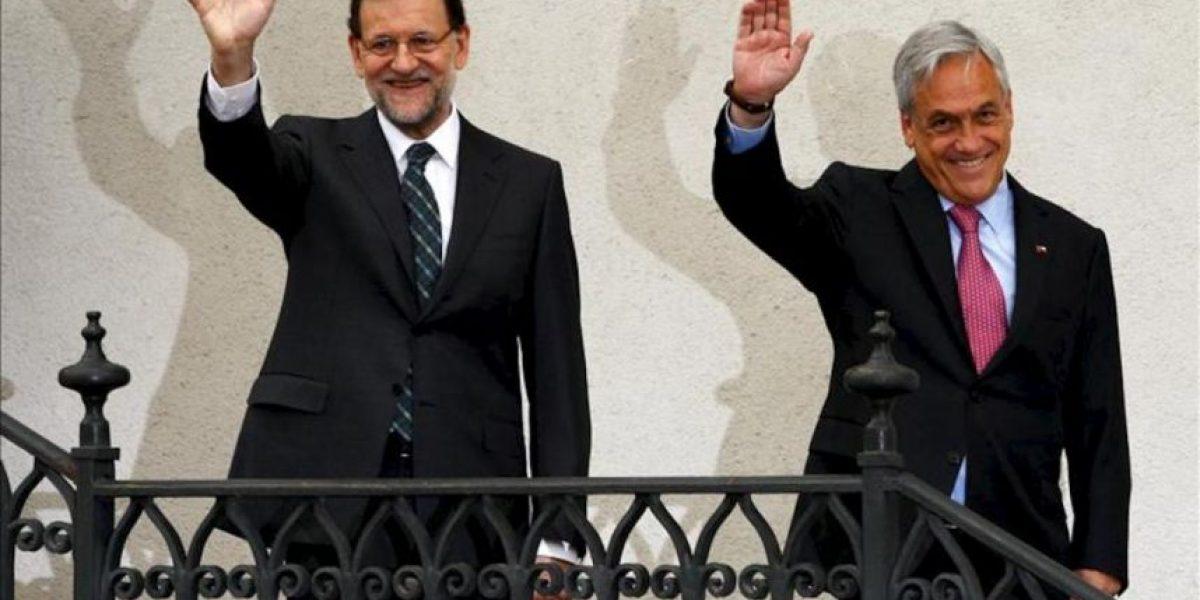 Rajoy, apoyado por Piñera, lanza un mensaje optimista de la economía española