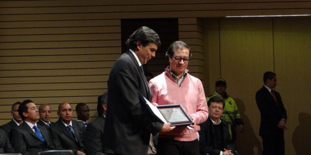 Millonarios recibió un reconocimiento por parte de la Alcaldía de Bogotá
