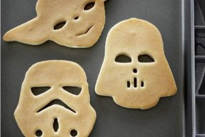 Moldes para hot cakes de Star Wars Foto:Publimetro México