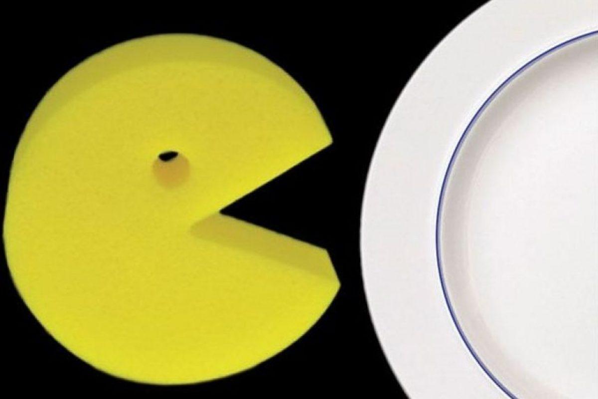 Esponja de Pac Man Foto:Publimetro México