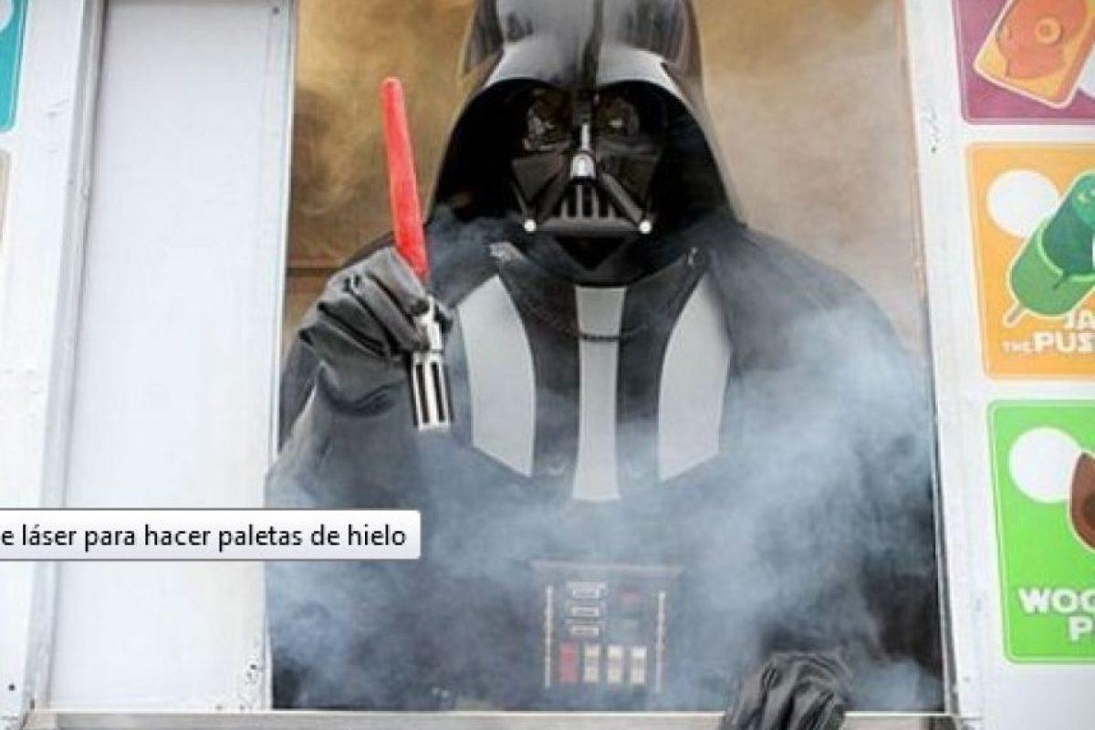 Paletera de Darth Vader Foto:Publimetro México