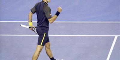 EL serbio Novak Djokovic durante la final del Abierto de Australia contra el británico Andy Murray, hoy. EFE