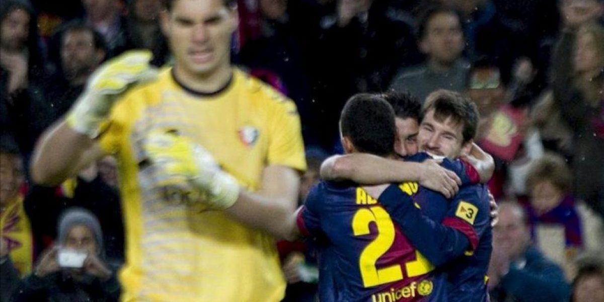 5-1. Messi se ensaña con un Osasuna en inferioridad