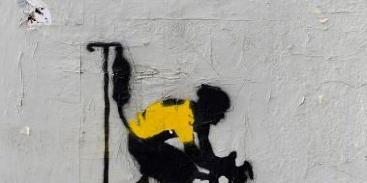 Lance Armstrong convertido en grafito