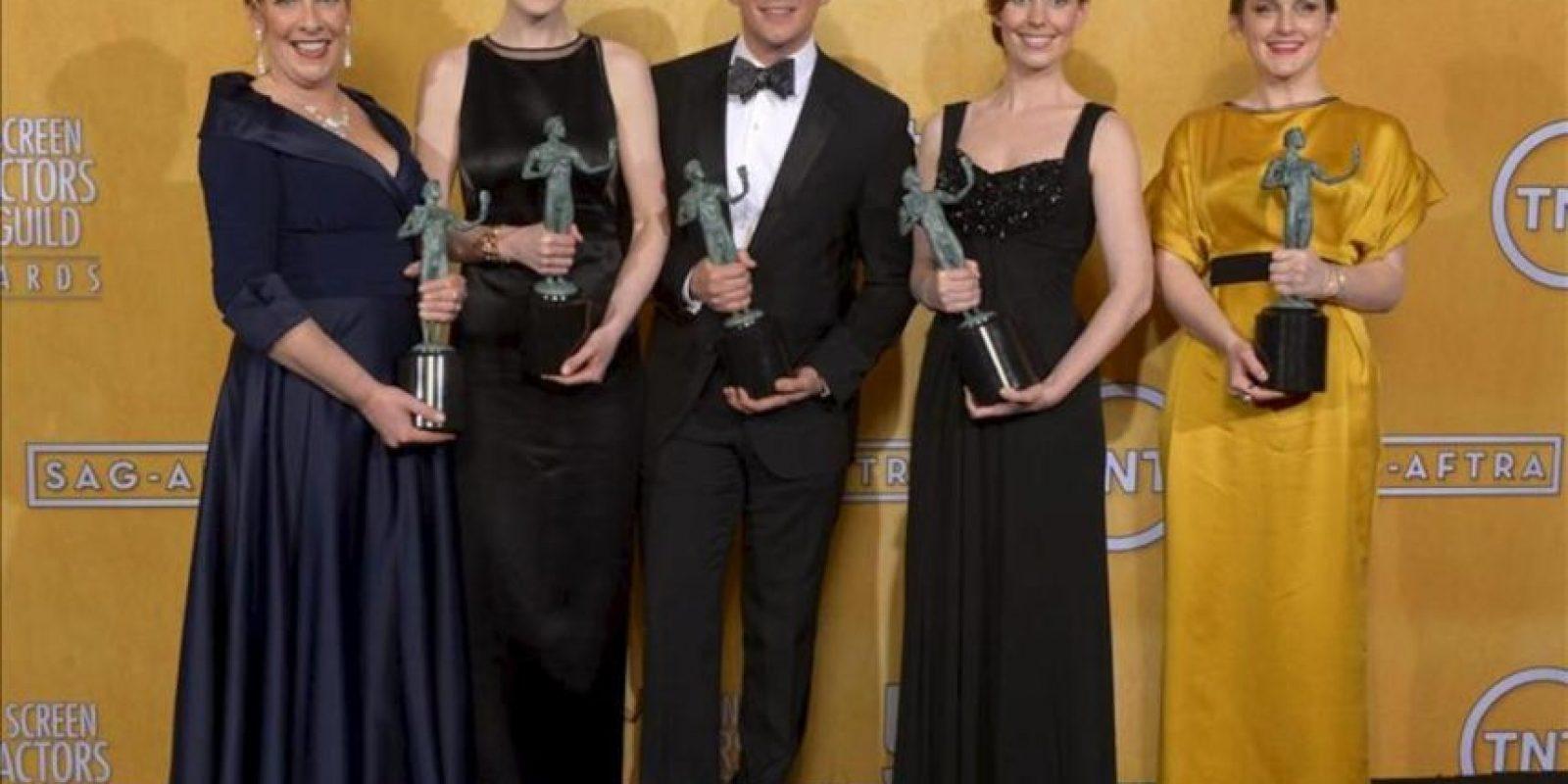 """En la imagen, el reparto de """"Modern Family"""" posan en la 19 edición de los premios SAG del sindicato de actores de EE.UU. EFE"""