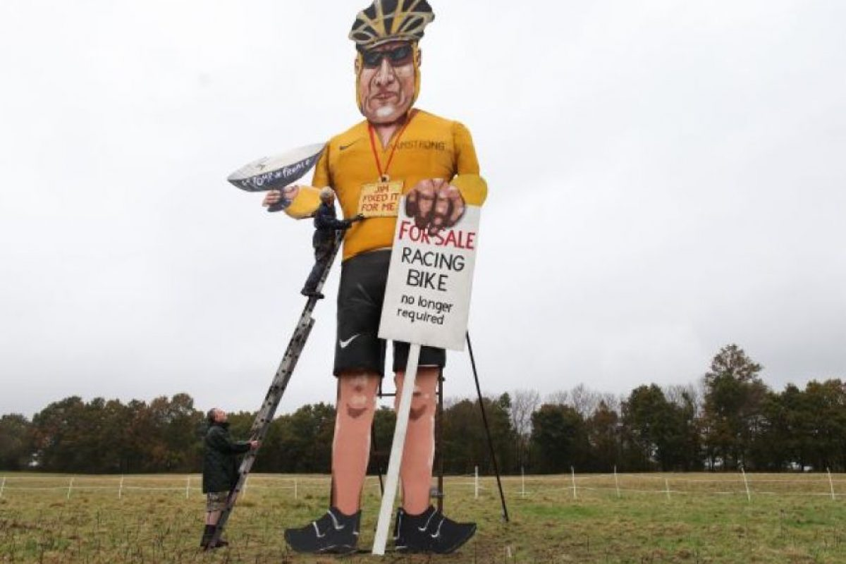 Antes de la confesión Armstrong ya había sido motivo de burlas. Foto:EFE/ Archivo