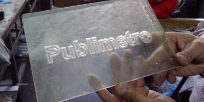 El diseño del logo es de acuerdo al gusto del proveedor. Foto:Diego Hernán Pérez / PUBLIMETRO